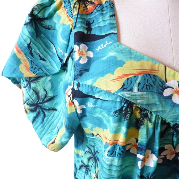 Winnie Fashion Dresses | Amazing Vintage Plus Size Hawaiian Dress 2x ...